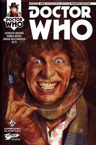 [Doctor Who: 4th #1 (Forbidden Planet/Jetpack Ben Oliver Variant) (Product Image)]