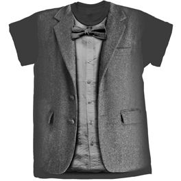 [Doctor Who: T-Shirts: 11th Doctor Costume (Variant Design) (Product Image)]