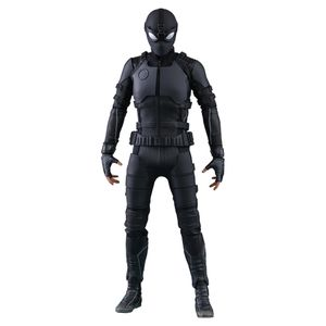 [Spider-Man: Far From Home: Hot Toys Action Figure: Stealth Suit Spider-Man (Product Image)]