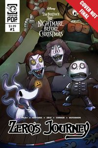 [The cover for Nightmare Before Christmas: Zeros Journey #11]