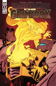 [Transformers: King Grimlock #5 (Cover A Tormey) (Product Image)]
