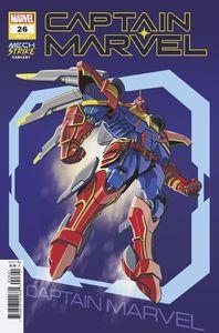 [Captain Marvel #26 (Castellani Avengers Mech Strike Variant) (Product Image)]