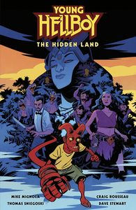 [Young Hellboy: The Hidden Land (Hardcover) (Product Image)]