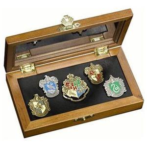 [Harry Potter: Hogwarts House Pin Set (Product Image)]