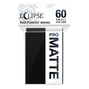 [Ultra Pro: Eclipse Matte: Jet Black: Small Sleeves (60) (Product Image)]