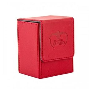 [Flip Deck Case: 80+ Standard Size Xenoskin: Red (Product Image)]