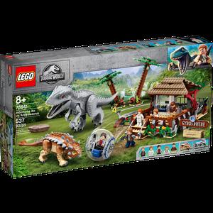 [LEGO: Jurassic World: Indominus Rex Vs. Ankylosaurus (Product Image)]