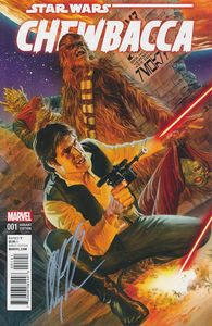 [Chewbacca #1 (Signed Alex Ross Variant) (Product Image)]