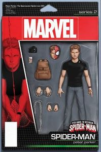 [Peter Parker: Spectacular Spider-Man #1 (Christopher Action Figure) (Product Image)]
