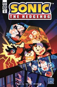 [Sonic The Hedgehog #35 (Fourdraine Variant) (Product Image)]