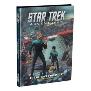 [Star Trek Adventures: Science Division Supplementary Rulebook (Product Image)]