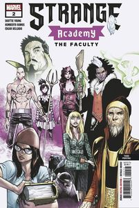 [Strange Academy #2 (3rd Printing Ramos Variant) (Product Image)]