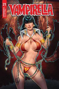 [Vampirella #21 (Premium RB White Variant) (Product Image)]