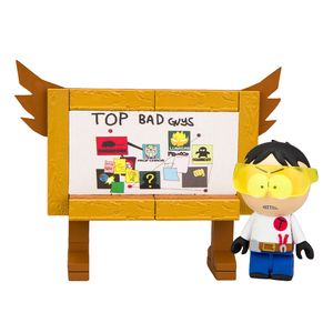 [South Park: Micro Construction Set: Toolshed Stan (With Top Bad Guys Board) (Product Image)]