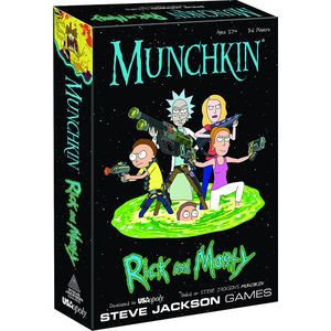 [Munchkin: Rick & Morty (Product Image)]