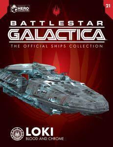 [Battlestar Galactica Ships Magazine #21: Loki (Product Image)]