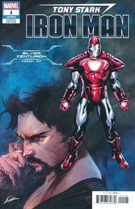 [Tony Stark: Iron Man #1 (Silver Centurion Armor Variant) (Product Image)]