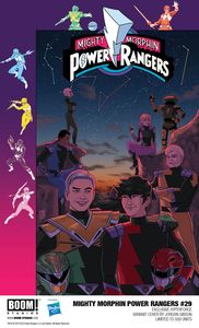 [Mighty Morphin Power Rangers #29 (Gibson Hyperforce Variant) (Product Image)]