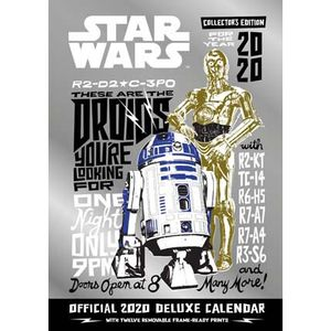 [Star Wars: Classic Deluxe Calendar: 2020 (Product Image)]