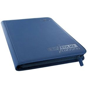 [Card guard: 9-Pocket Zipfolio Xenoskin: Blue (Product Image)]
