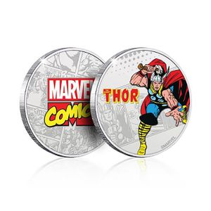 [Marvel: .999 Silver Plated Coin: Thor (Product Image)]