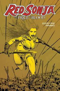 [Red Sonja: Price Of Blood (Golden gold Tint Variant) (Product Image)]