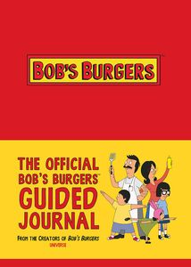 [The Official Bob's Burgers Guided Journal (Product Image)]