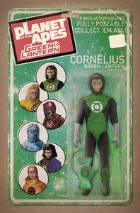 [Planet Of The Apes/Green Lantern #1 (Unlock Action Figure Variant) (Product Image)]