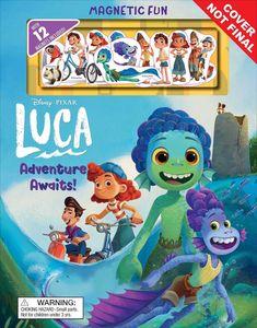 [Disney Pixar: Luca Adventure Awaits! (Magnetic Hardcover) (Product Image)]