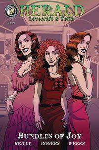 [The cover for Herald: Lovecraft & Tesla: Bundles Of Joy #3]