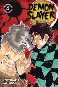 [Demon Slayer: Kimetsu No Yaiba: Volume 4 (Product Image)]