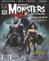 [The cover for Famous Monsters Of Filmland #284 (Batman v Superman - Variant Cover)]