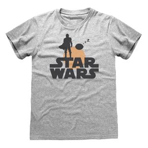 [Star Wars: The Mandalorian: T-Shirt: Silhouette (Product Image)]