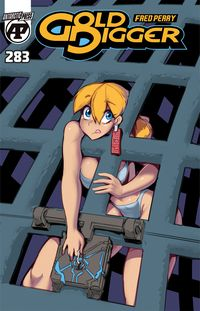 [The cover for Gold Digger #283]