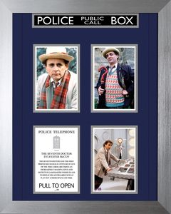 [Doctor Who: 50th Anniversary: Deluxe Framed Print: 7th Doctor (Limited Edition) (Product Image)]