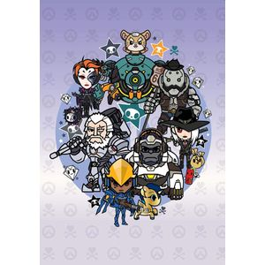 [Overwatch Tokidoki Heroes Journal (Hardcover) (Product Image)]