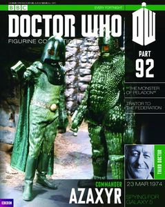 [Doctor Who: Figurine Collection Magazine #92 Commander Azaxyr (Product Image)]