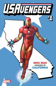[Now U.S. Avengers #1 (California State - Reis Variant) (Product Image)]