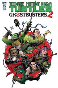 [Teenage Mutant Ninja Turtles/Ghostbusters II #5 (Cover B Wilson Iii) (Product Image)]