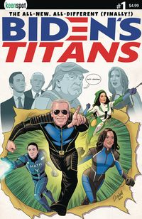 [The cover for Bidens Titans #1 (Cover A Ryan Odagawa)]