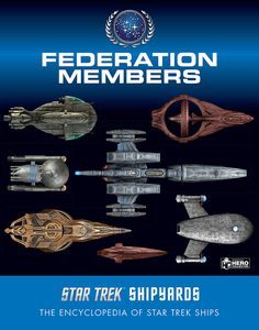 [Star Trek Shipyards: Federation Members (Hardcover) (Product Image)]