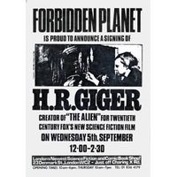 [H. R. Giger Signing (Product Image)]