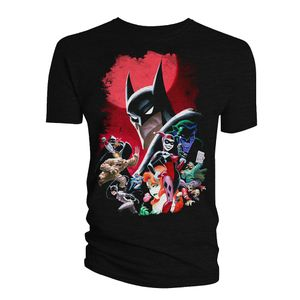 [Batman: The Animated Series: T-Shirt: Villains (Product Image)]