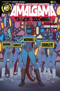 [Amalgama Space Zombie: Galaxy's Most Wanted #3 (Cover B Young Ris) (Product Image)]