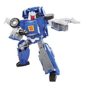 [Transformers Generations: War For Cybertron: Action Figure: Kingdom Deluxe WFC-K26 Autobot Tracks (Product Image)]