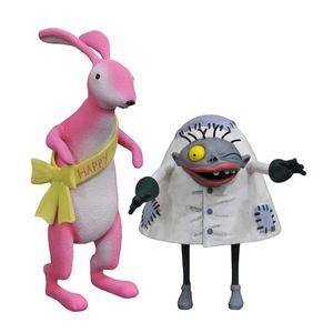 [The Nightmare Before Christmas: Action Figure: Easter Bunny & Igor (Product Image)]