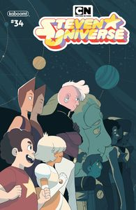 [Steven Universe: Ongoing #34 (Cover B Preorder Chau Variant) (Product Image)]