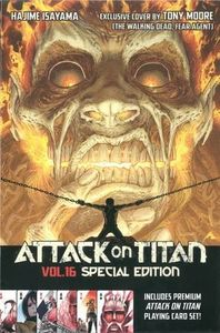 [Attack On Titan: Volume 16 (Special Edition Playing Cards Set) (Product Image)]
