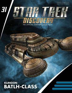 [Star Trek: Discovery Figurine Magazine #31: Klingon Batlh Class (Product Image)]