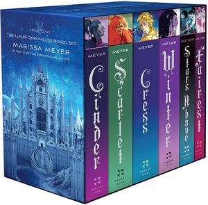 [The Lunar Chronicles: Boxed Set (New Editions) (Product Image)]
